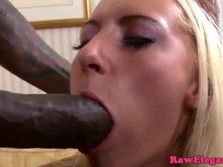 Preview 1 of Petite glam eurobabes interracial anal fun