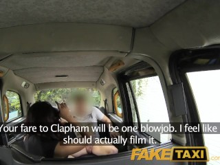 Preview 6 of FakeTaxi Sexual favours from ebony minx