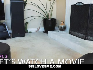 Preview 6 of SisLovesMe - Step-Sis Used Me As Sex Toy For Revenge