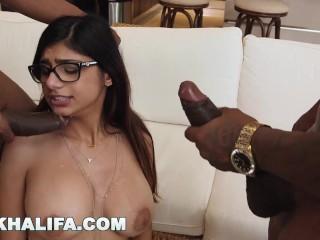 Preview 3 of Mia Khalifa Craves Big Black Dick Against Boyfriend's Wishes (mk13769)