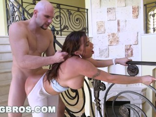 Preview 5 of BANGBROS - Julianna Vega Fucked Around The House (ap13758)