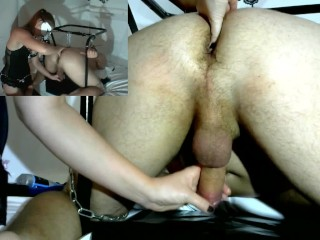 Preview 1 of Femdom Prostate Milking and Orgasm Denial