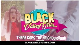 BlackValleyGirls - Ebony Kendall Woods & Best Friend Share Big Cock