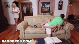 BANGBROS - Stepmom Nina Elle Has Threesome With Natalia Starr