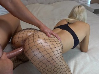 Preview 4 of College GF Teen gets crazy from massive creampie multiple orgasm CarryLight