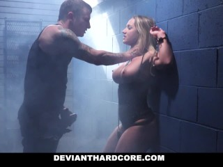 Preview 4 of DeviantHardcore - Submissive Dom Cali Carter Hardcore Fucking