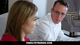 FamilyStrokes - Stepsis Fucks Her Stepbro After Therapy