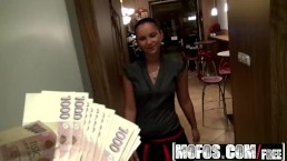 Mofos - Public Pick Ups - Barmaid Wants the Tip , Marie Getty