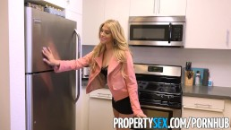 PropertySex - Fine ass real estate agent agrees to fuck for sale