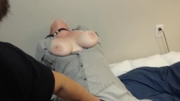 Well trained wife sucks cock and gets fucked doggystyle eats cum from face!