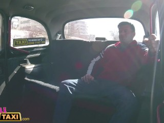 Preview 2 of Female Fake Taxi Busty driver swaps fare for fuck