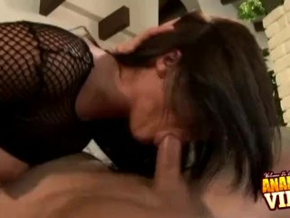 Preview 4 of Cock Sucking Sandra Romain Ass Fucked