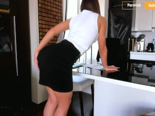 Preview 2 of My horny secretary always give me a pleasure