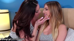 Kendra Lust Gives Teen Step Daughter Kristen Scott A Gnite Kiss