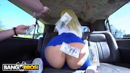 BANGBROS - Big Booty Stripper Alexis Andrews Takes A Ride On The Bang Bus