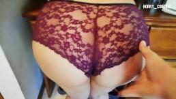 Cumming on step sister panties pussyjob