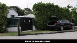ExxxtraSmall- Petite Teen Fucked In the trunk
