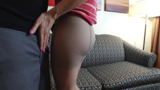 Real amateur College Girl Brandi´s First Time on Camera Big Blast Blowjob