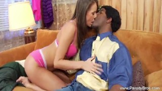 Black And White Interracial Sexaholic Moment of Couple