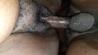 Lesbian wanted dick so I fucked her ass good